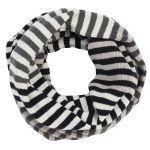 Kieppi ympyrähuivi, musta-harmaa, aina yhtä lämmin!