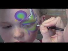 Peacock- Face Painting Tutorial - YouTube