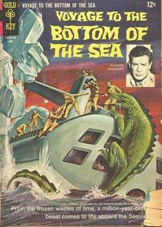 """kwebtv:  """"Voyage To The Bottom Of The Sea"""" Gold Key Comics - December 1964 - May 1969 (16 Issues)"""