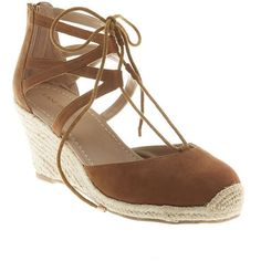 Lane Bryant Lace-up espadrille wedge, Women's, Size: 7 W, Beige ($60) ❤ liked on Polyvore featuring shoes, sandals, beige, wide width shoes, wide width wedge sandals, lane bryant shoes, espadrilles shoes and lace up espadrilles