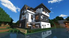 Modern House On MetaCraft [Day Edition] by theSHHAS