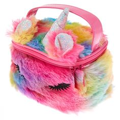 Shop Claire's for the latest trends in jewelry & accessories for girls, teens, & tweens. Find must-have hair accessories, stylish beauty products & more. Unicorn Room Decor, Unicorn Rooms, Baby Girl Toys, Toys For Girls, Unicorn Fashion, Slime Craft, Baby Doll Accessories, Fantasias Halloween, Kids Makeup
