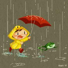 Wait, Mr Frog by mashi.deviantart.com