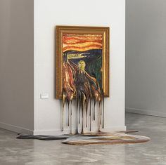 alper dostal melts masterpieces to imagine art without air conditioning