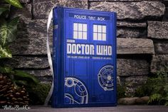 Find images and videos about blue, doctor who and tardis on We Heart It - the app to get lost in what you love. Tardis, Touched By An Angel, Book Safe, Bbc Doctor Who, Accessories Display, Leather Bound Books, Police Box, Flask, Handmade Art