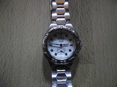 GUESS  WATERPRO - 50M Water Resistant - Retro Guaranteed Genuine, rare ladies quartz wristwatch by EWcoLondon on Etsy Alternative Power Sources, Solar Watch, Hard Wear, Mechanical Watch, Digital Watch, Quartz Watch, Quartz Crystal, At Least, Retro Watches