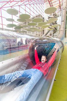 Toboggan Arena fun Xperiences Futuroscope Sport, France, Fun, Travel, Playground Slide, Entertainment, Deporte, Viajes, Sports