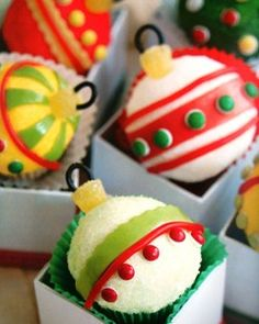 Christmas Ideas Food Cupcakes
