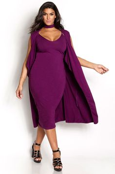 This Stylish plus size outfits for winter 2017 120 image is part from 130 Stylish Plus Size Outfits Ideas for Winter 2017 that You Must Try gallery and article, click read it bellow to see high resolutions quality image and another awesome image ideas. Curvy Girl Fashion, Plus Size Fashion, Womens Fashion, Fashion Trends, Plus Size Dresses, Plus Size Outfits, Plus Size Womens Clothing, Clothes For Women, Xl Mode