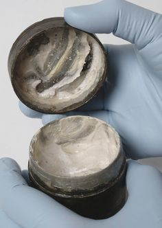 2,000-year-old roman face cream with visible, ancient fingermarks The contents were so well preserved (you can still see finger marks in the cream) that the team was able to recreate the product from...