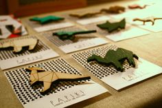 Geometric animals by Papiki