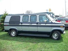 Van I drove from Illinois,with the power steering out...oh joy!!!