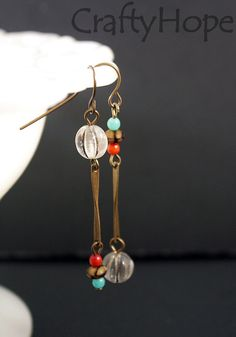 Damselfly Earrings by CraftyHope, $12.15