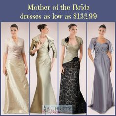 Mother of the Bride dresses WEDDING SEASON ~ BEAUTIFUL MOTHER OF THE BRIDE DRESSES AS LOW AS $132.99 #WEDDING #MOTHEROFTHEBRIDE