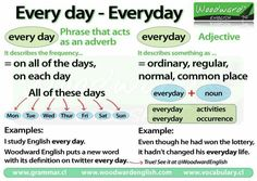 Every day - everyday