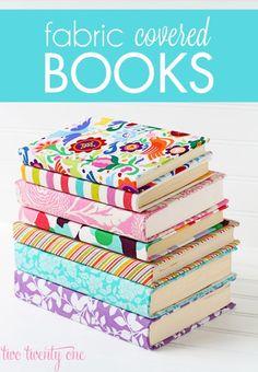 Forrar libros con telas
