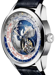 Jaeger-LeCoultre Geophysic Tourbillon Universal Time Watch Watch Releases