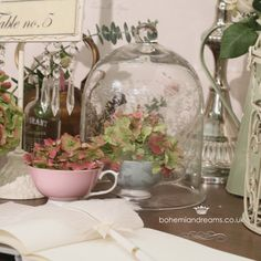 Lovely Favours ~ Vintage Inspired Wedding Stationery and Favours: Discount & Free Goods for all Love My Dress Readers…… Vintage Props, Vintage Frames, Vintage Table, My Glass, Glass Vase, Wedding Stationery, Wedding Invitations, The Bell Jar, Vintage Chandelier