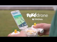 "This Awesome Pokédrone Lets You Catch The Hard-Of-Reach Pokémon In ""Pokémon GO"" - 9GAG.tv"