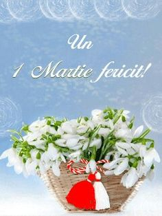 Risultati immagini per buchete cu ghiocei 8 Martie, Birthday Cards, Happy Birthday, Mothers Day Crafts, Bouquet, Diy And Crafts, Table Decorations, Spring, Flowers