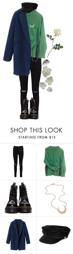 """I put on my hat and I bump into everything and it hurts"" by cherrysick on Polyvore featuring Boohoo, Paul Smith and Dr. Martens"