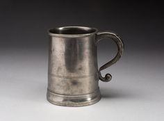 Pewter Tankard, - Thomas Danforth Boardman or Sherman Boardman, Hartford, CT Pewter Tankard, Art Institute Of Chicago, May Flowers, 30, Antiques, Style, May Birth Flowers, Antiquities, Stylus
