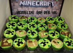 Minecraft Cupcakes on Cake Central