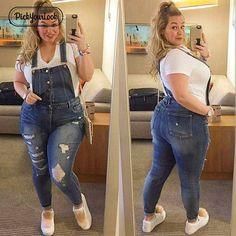 af7e0174988 Pickyourlook Women Plus Size Overalls Denim Jumpsuit Blue Fashion Strap  Lady Bodysuit Backless Large Size Female Body Rompers