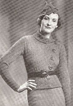 5476152a94cd 34 Best 1950s and 1960s Vintage Knitting Patterns PDFs to download ...