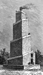 Fire tower of atech-gar at firouz-abad
