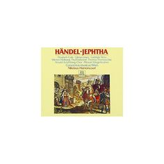 Handel & Nikolaus Harnoncourt - Handel: Jephtha (CD)