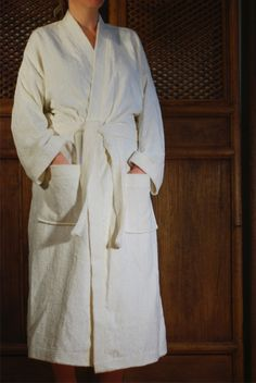 Bamboo Unisex Bathrobe made from organic bamboo and organic cotton. Bed Sheet Sets, Bed Sheets, Buy Bamboo, Bath Time, Bath Robes, Organic Cotton, Women Wear, Unisex, Luxury