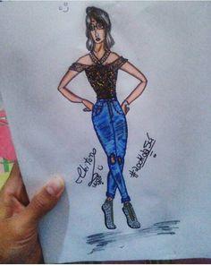 #Lookdajú #moda #croqui #Desenhos #Pinterest