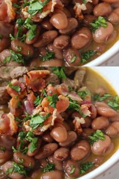 """""""Carne En Su Jugo"""" literally translated means """"Meat In Its Juices."""" This tasty and savory Mexican stew is made with bacon, beef and served with beans. Easy to love. Easy to enjoy. Recipe by Mama Maggie's Kitchen mexicanstew Mexican Bean Soup, Mexican Soup Recipes, Bean And Bacon Soup, Bean Recipes, Mexican Dishes, Mexican Beans Recipe, Mexican Meat, Authentic Mexican Recipes, Feijoada Recipe"""