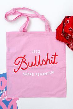 More Feminism Tote