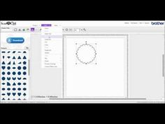 ▶ Brother Scan'N'Cut canvas: Faux stitching tutorial with Melanie Heaton - YouTube