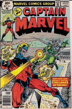 Captain Marvel 62 May 1979 Issue  Marvel Comics  by ViewObscura