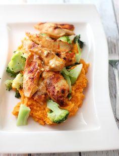 Kremet kylling til liten og stor | Mat for muskler