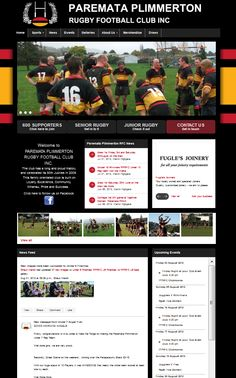 Red, Orange & Black for the Paremata Plimmerton Rugby Football Club