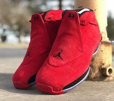 Look for the Air Jordan 18 Toro to release on April 7th for $225.