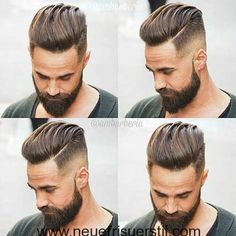 Men's Toupee Human Hair Hairpieces for Men inch Thin Skin Hair Replacement System Monofilament Net Base ( Cool Hairstyles For Men, Haircuts For Men, 2018 Haircuts, Barber Haircuts, Popular Mens Hairstyles, Undercut Hairstyles, Hairstyles Haircuts, Men Undercut, Male Short Hairstyles