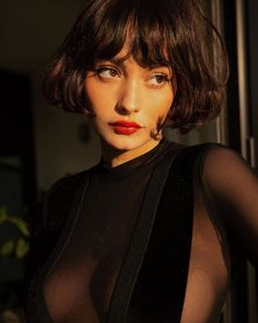 Chanel haircut peaked: 50 images of the refurbished classic Corte de cabelo chanel repicado: 50 imagens do clássico repaginado Chanel haircut peaked: 50 images of the refurbished classic Hair Inspo, Hair Inspiration, Pretty People, Beautiful People, Taylor Lashae, Photographie Portrait Inspiration, Hair Reference, Grunge Hair, New Hair