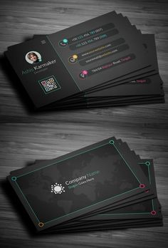 Business cards is the most important part of corporate Branding. Here are some creative and high quality business card templates design, fully editable,