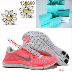 separation shoes 2d673 9ebac Cheap Nike Free Womens Hot Punch Pink Flower Tiffany CO Earring
