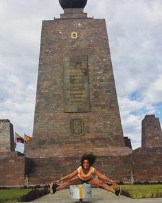 In the middle of the world #ecuador #mitaddelmundo