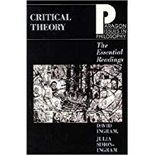 Critical Theory The Essential Readings Paragon Issues In Philosophy Critical Theory Theories Books