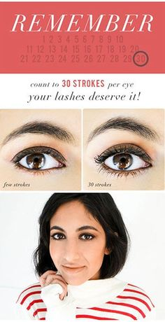 This Is How Many Strokes of Mascara It Takes to Get Perfect Lashes