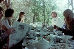 """""""breakfast in the middle of the jungle.""""  — ringo starr"""