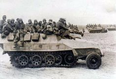 SdKfz 251s loaded with infantry | SdKfz 251s loaded with inf… | Flickr