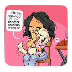Siempre me salvavas, Suri I Love Dogs, Puppy Love, Cute Dogs, Dog Phrases, Animals And Pets, Cute Animals, Kid Memes, Chihuahua Love, Relationship Memes
